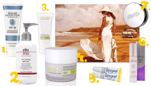 Best Products For Your Skin to Prevent and Reduce Sun Damage
