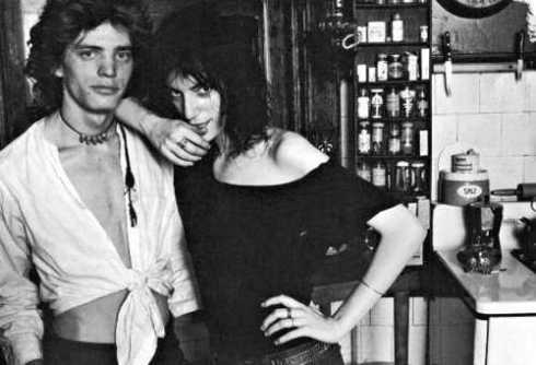 Robert Mapplethorpe & Patti Smith